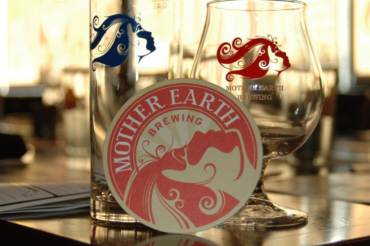 Mother Earth Dinner - Kolsch Glass, Coaster and Snifter